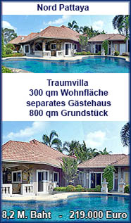 Haus mit privatem Swimmingpool - Pattaya Immobilien