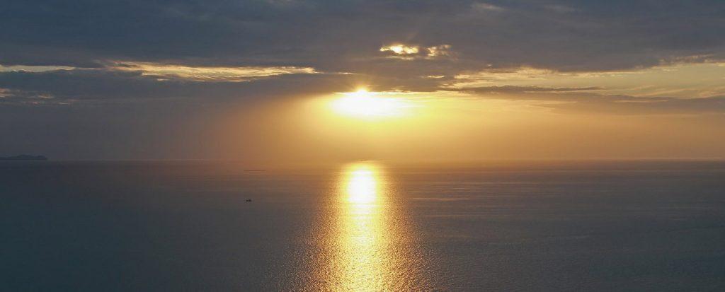 Sonnenuntergang in Naklua - Wongamat Beach - Pattaya - Thailand