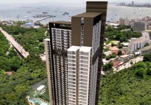 Unixx Condo in Pattaya mit vielen Wohnungen zur Vermietung