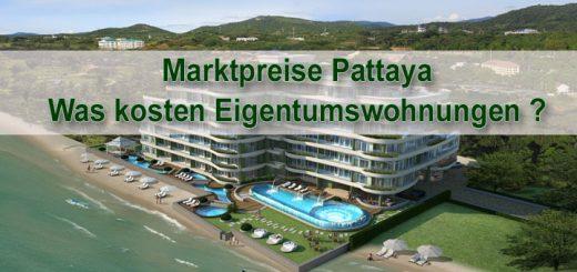 Martpreise Eigentumswohnungen Pattaya