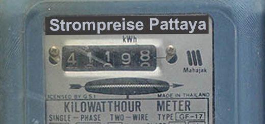 stromkosten- strompreise-Stadtwerke Pattaya Thailand