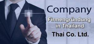 Firmengründung in Thailand - Thai Company Ltd.
