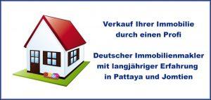 Immobilie Verkauf : haus wohnung verkaufen pattaya Jomtien
