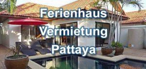 Ferienhausvermietung Pattaya privater Swimmingpool