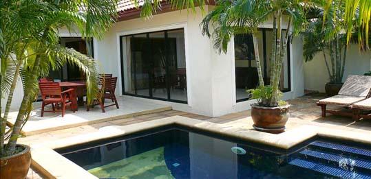 ferienhaus jomtien privater Swimmingpool