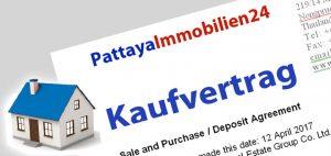 Immobilien Kaufvertrag Thailand - Vertragsabschlud und Vertragsabwicklung