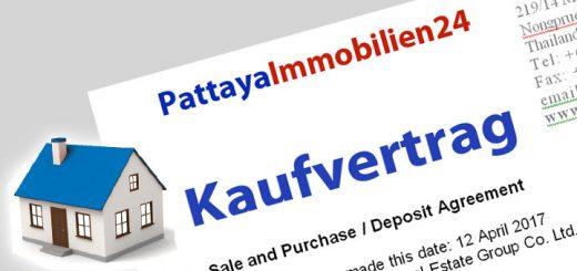 Immobilien Kaufvertrag Thailand