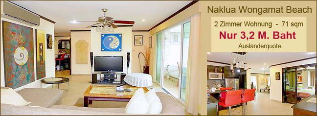 wohnung-in-naklua-reduzierter-Preis wegen Thai Baht Wechselkurs