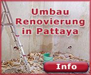 Umbau und Renovierungen in Pattaya Jomtien
