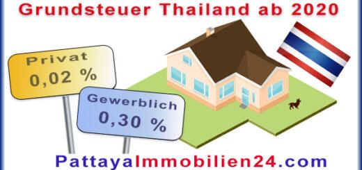 Grundsteuer Thailand Gesetz 2020