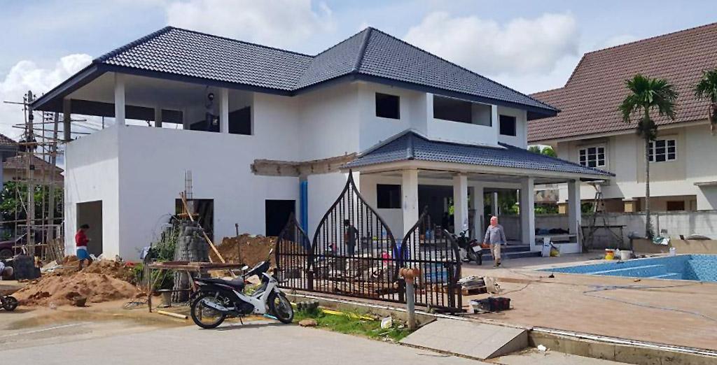 Haus bauen Pattaya preisgünstig