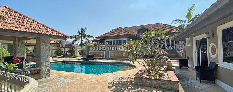 Traumhaus in Pattaya mit Gästehäusern